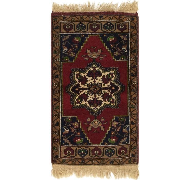 2' x 3' 7 Anatolian Rug
