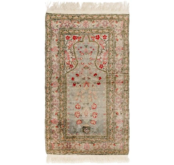 60cm x 105cm Kashmir Oriental Rug