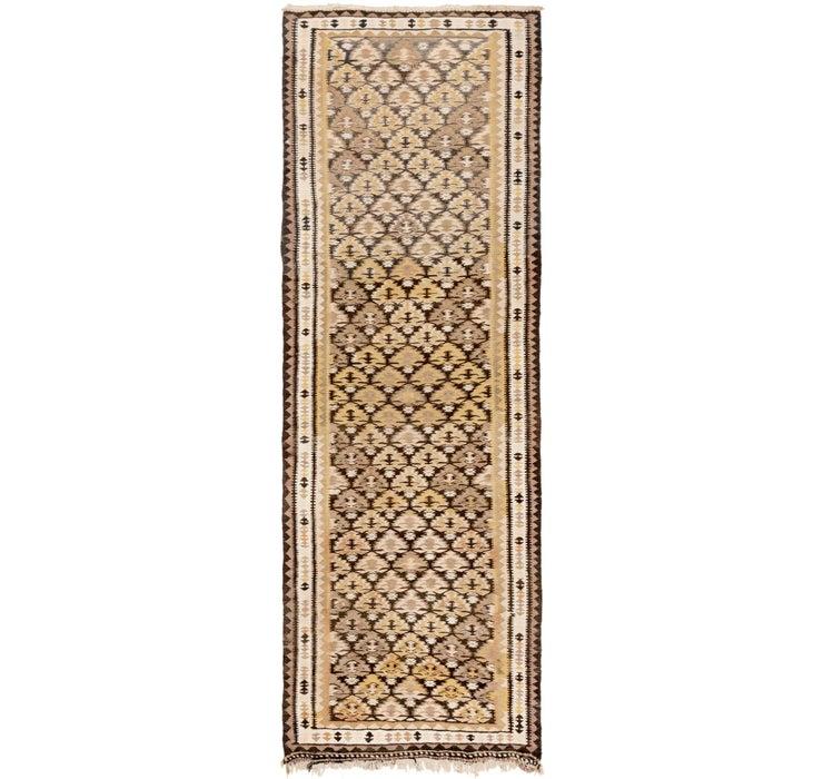 3' 3 x 9' 7 Kilim Fars Runner Rug
