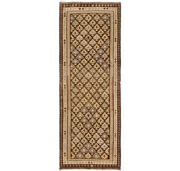Image of 3' 9 x 10' Kilim Fars Runner Rug
