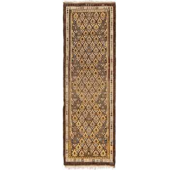 Image of 3' x 9' 8 Kilim Fars Runner Rug