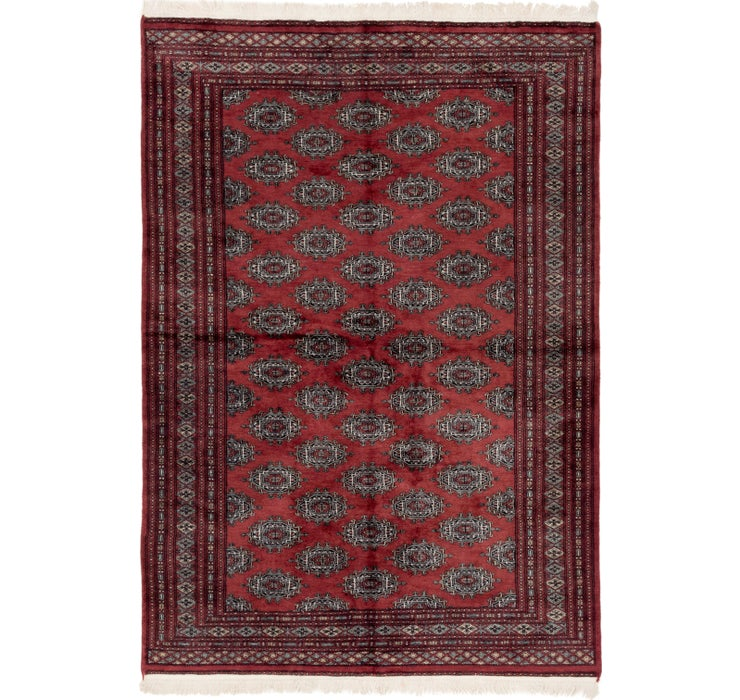 5' 6 x 8' 2 Bokhara Oriental Rug