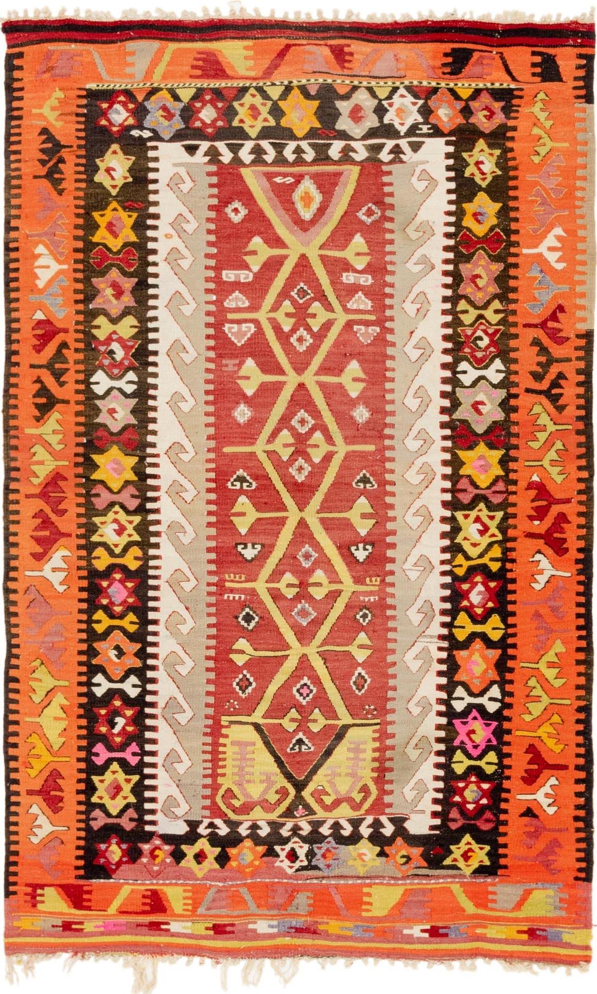3' 10 x 6' Kilim Rag Rug main image