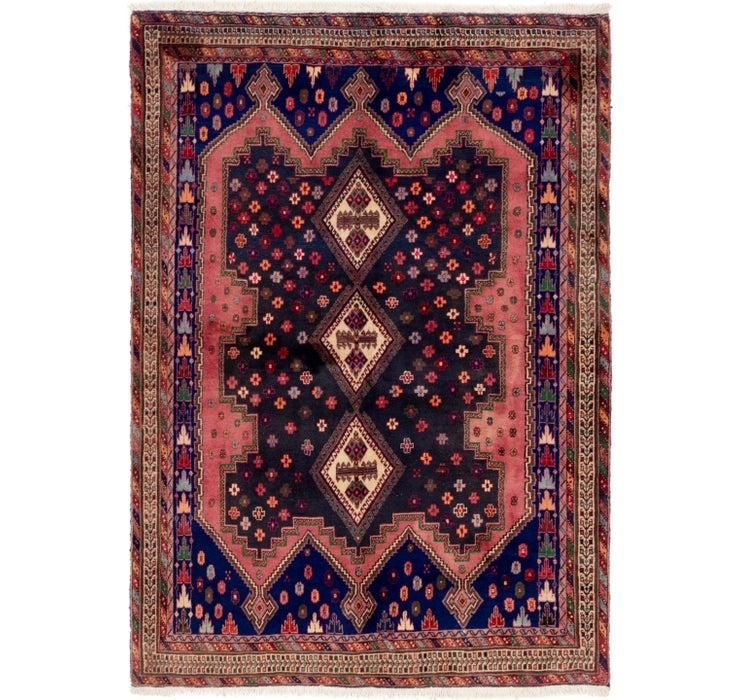 157cm x 225cm Yalameh Persian Rug