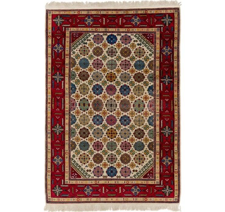 4' 3 x 6' 5 Anatolian Rug