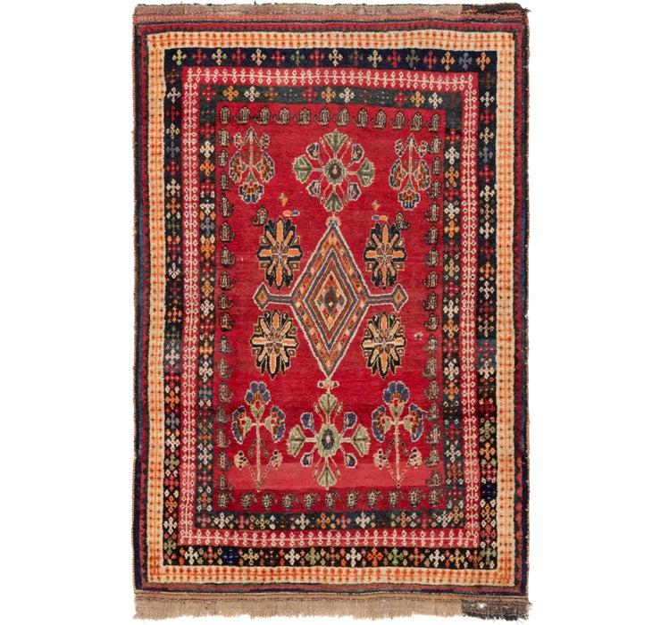 4' 4 x 6' 8 Anatolian Rug