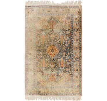 Image of  3' 9 x 6' 5 Hereke Oriental Rug