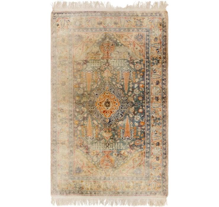 Image of 115cm x 195cm Hereke Oriental Rug