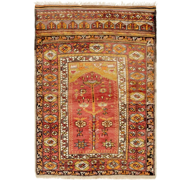 3' 7 x 5' 7 Anatolian Oriental Rug