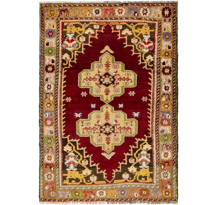3' 10 x 5' 7 Anatolian Oriental Rug