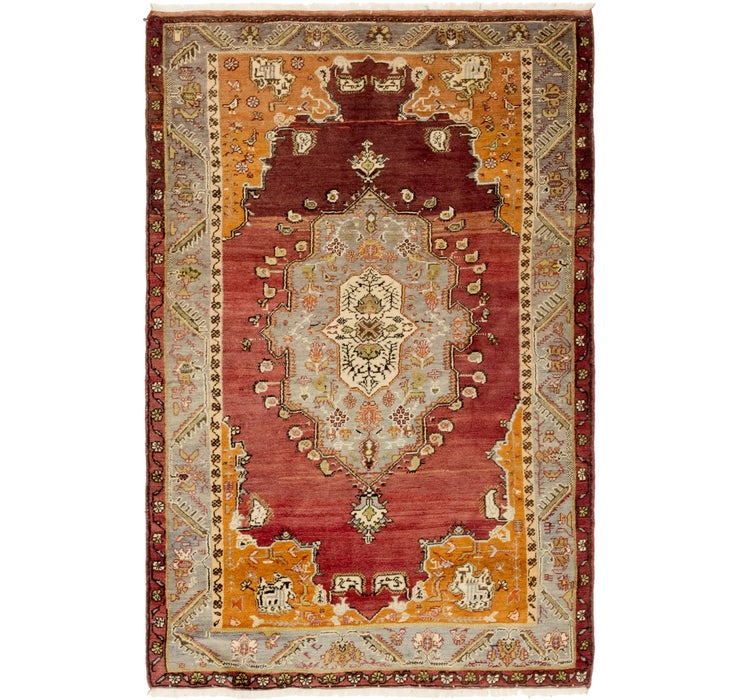 4' 3 x 6' 6 Anatolian Rug
