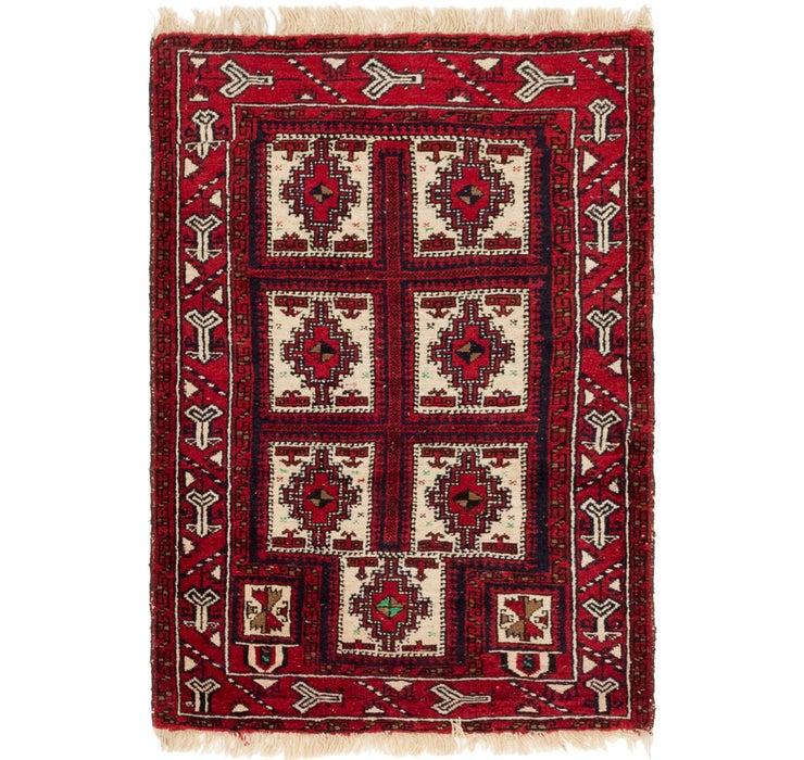 97cm x 147cm Balouch Persian Rug