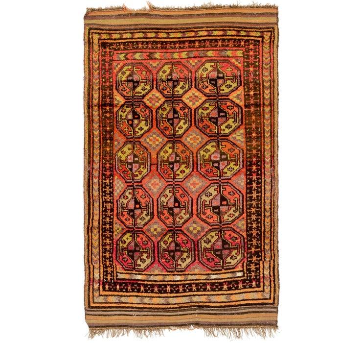 4' 2 x 7' 4 Shiraz Persian Rug
