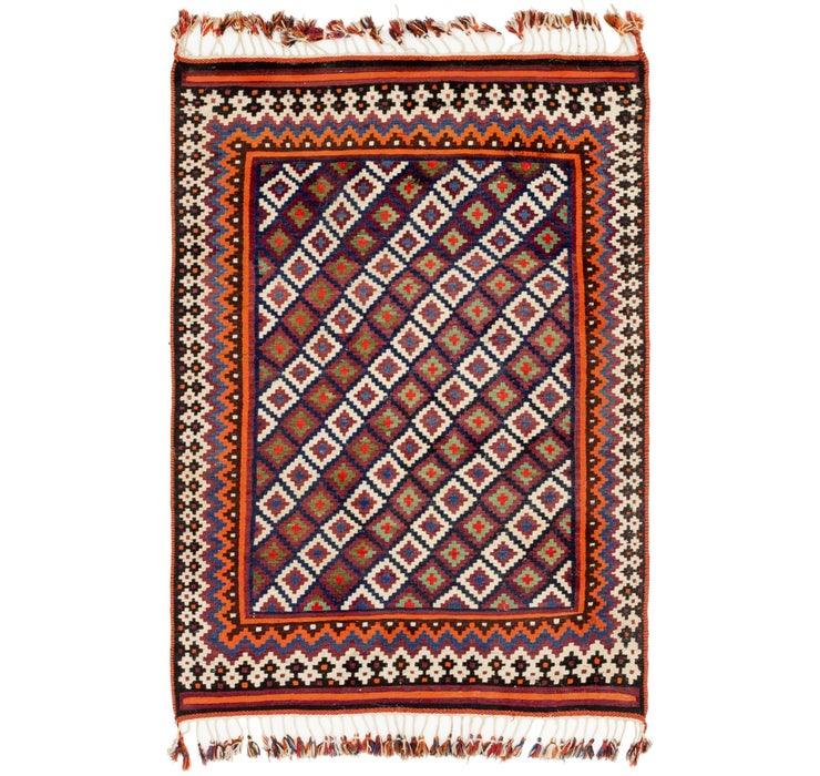 4' x 6' Kilim Fars Rug