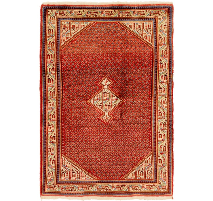 4' 6 x 7' Botemir Persian Rug