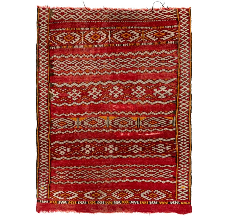 142cm x 195cm Moroccan Rug