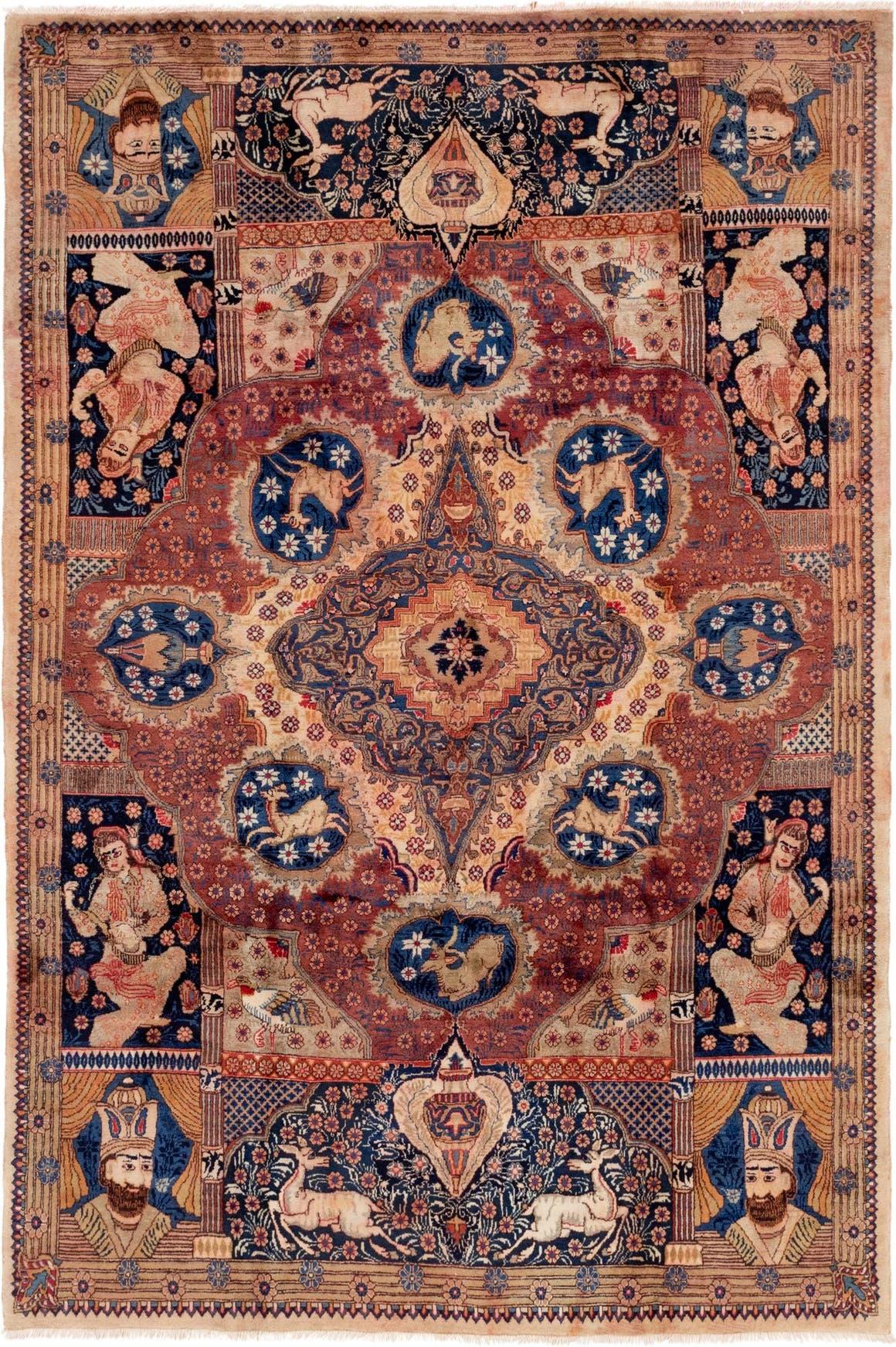 6' 7 x 9' 9 Kashmar Persian Rug main image