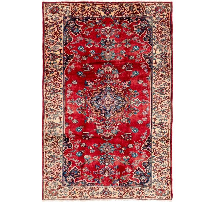 213cm x 325cm Hamedan Persian Rug