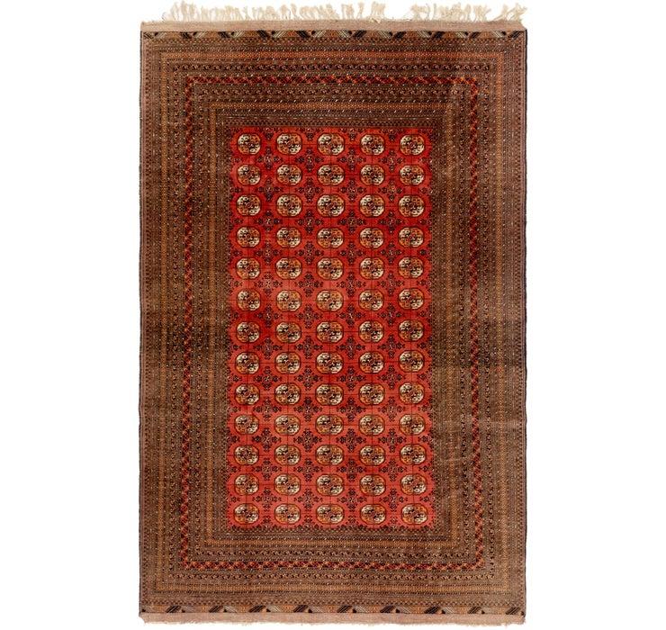 198cm x 310cm Bokhara Oriental Rug