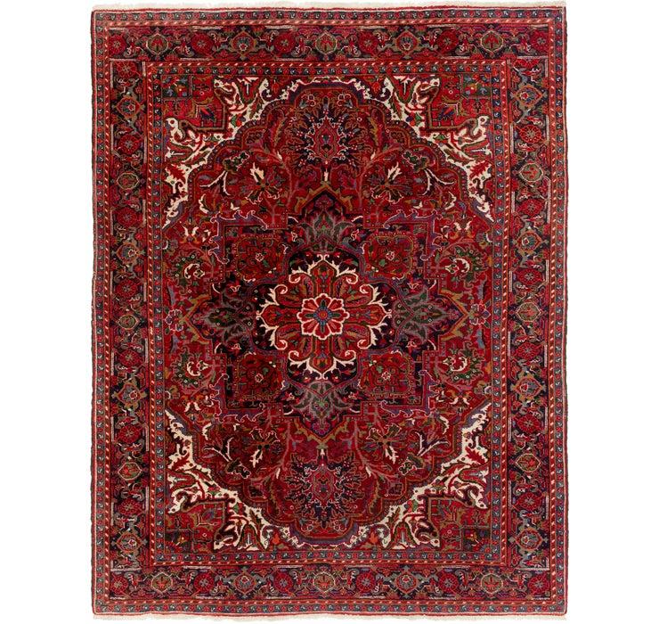 225cm x 285cm Heriz Persian Rug