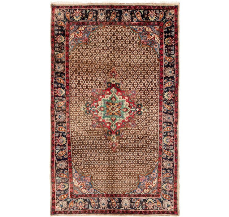 5' 5 x 8' 10 Songhor Persian Rug