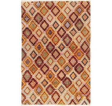 Image of 6' 6 x 10' Moroccan Rug