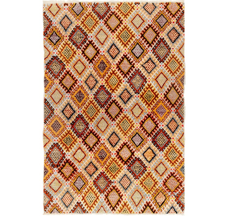 6' 6 x 10' Moroccan Rug