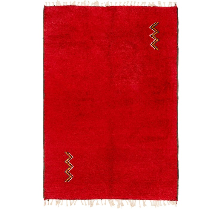 5' 8 x 8' 2 Moroccan Rug