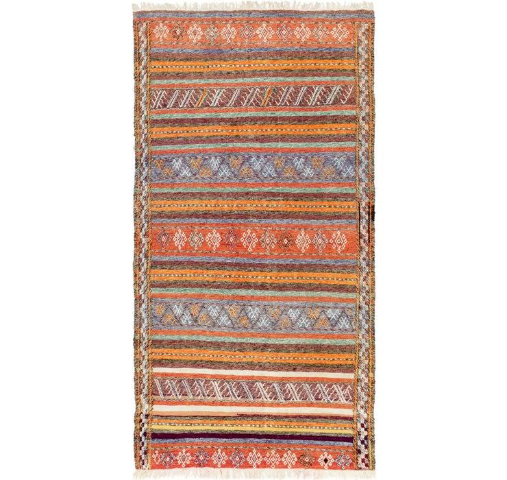 137cm x 265cm Moroccan Rug