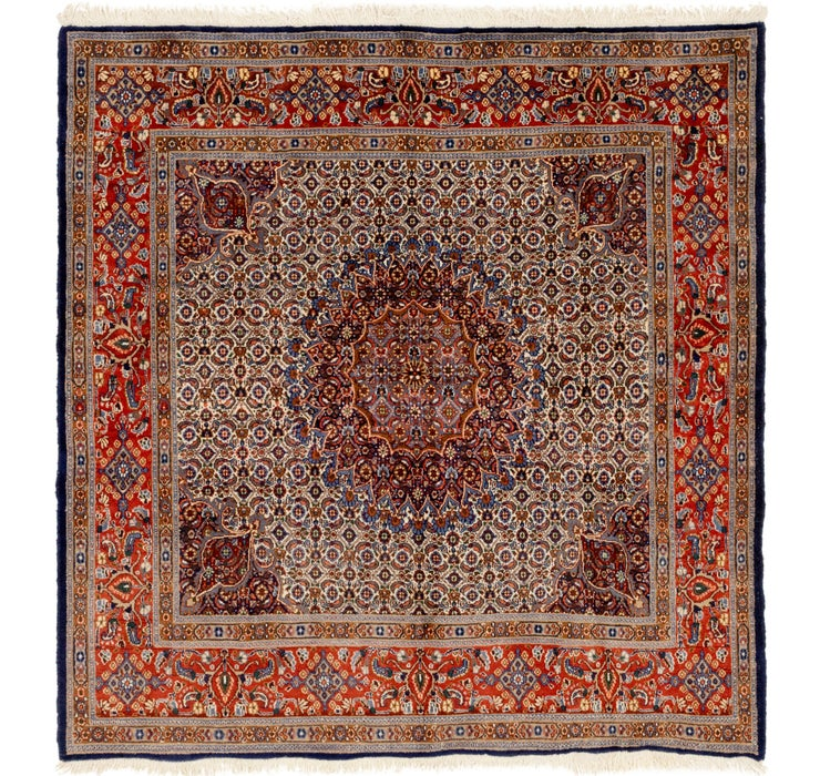 6' 6 x 6' 10 Mood Persian Square Rug
