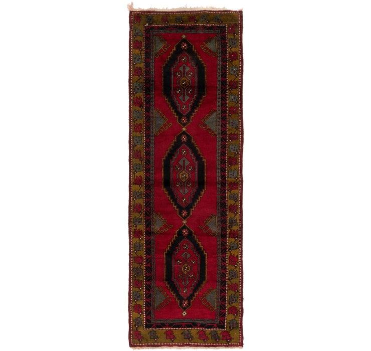 3' 9 x 11' 6 Anatolian Runner Rug