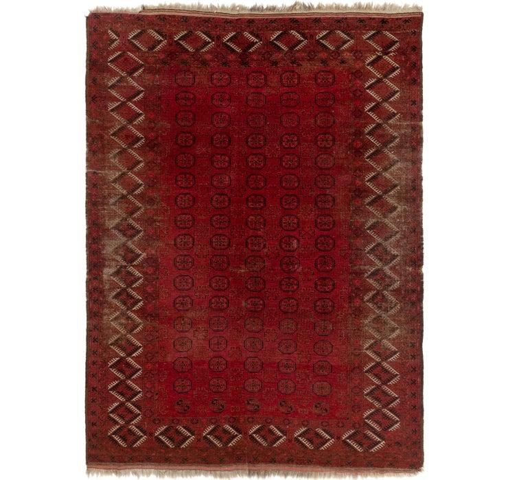 230cm x 315cm Afghan Akhche Rug