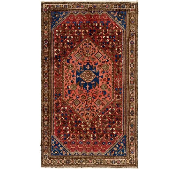 5' 3 x 9' 2 Shiraz Persian Rug