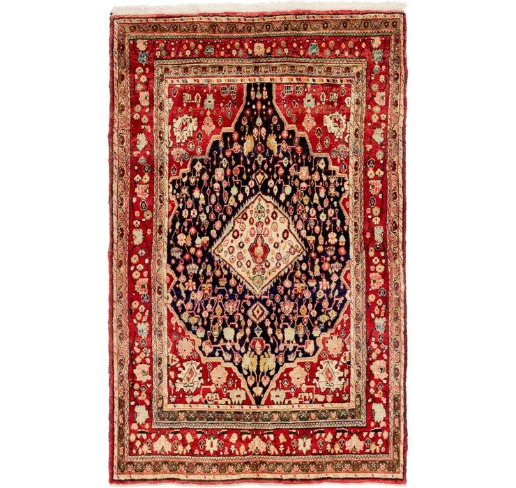 4' 3 x 7' 3 Farahan Persian Rug