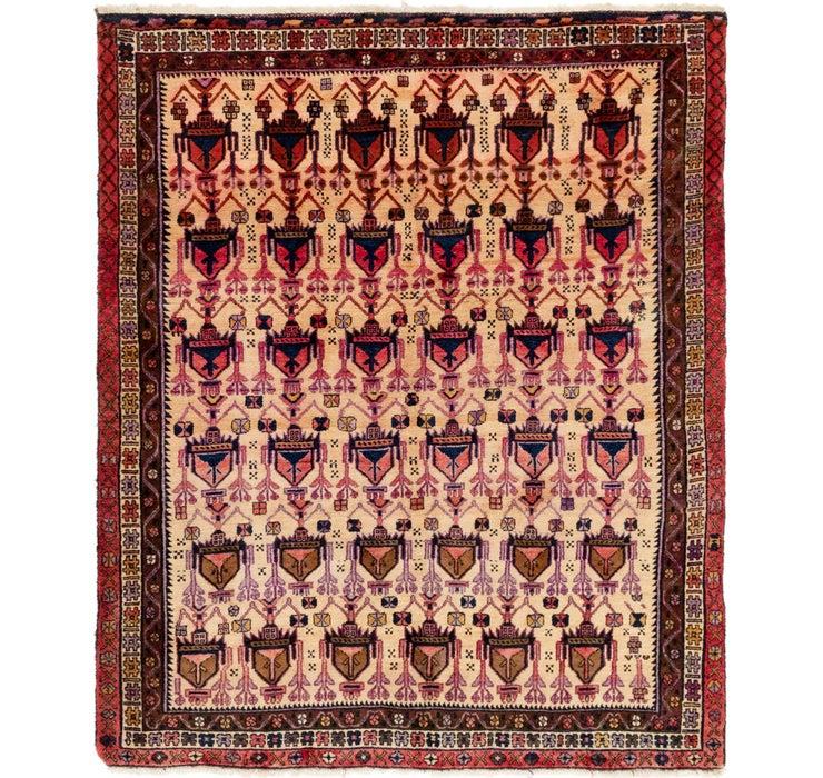 160cm x 195cm Yalameh Persian Rug