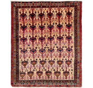 Image of 5' 3 x 6' 5 Yalameh Persian Rug