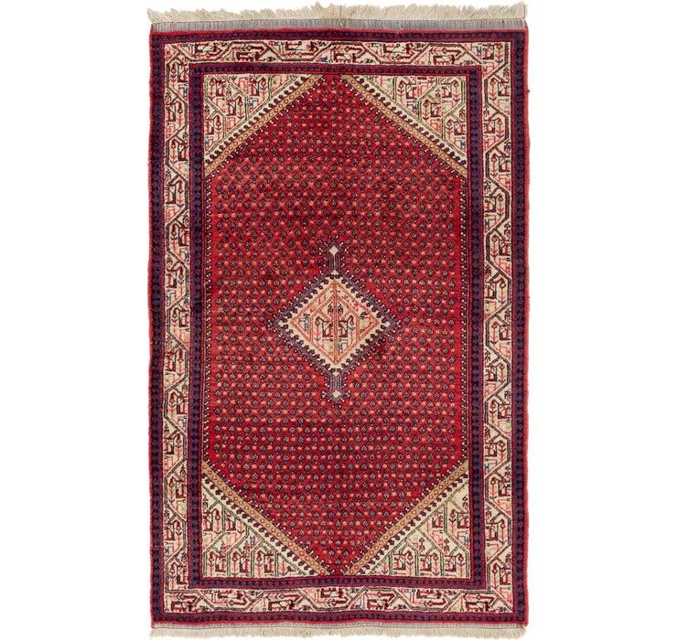 4' 4 x 7' Botemir Persian Rug