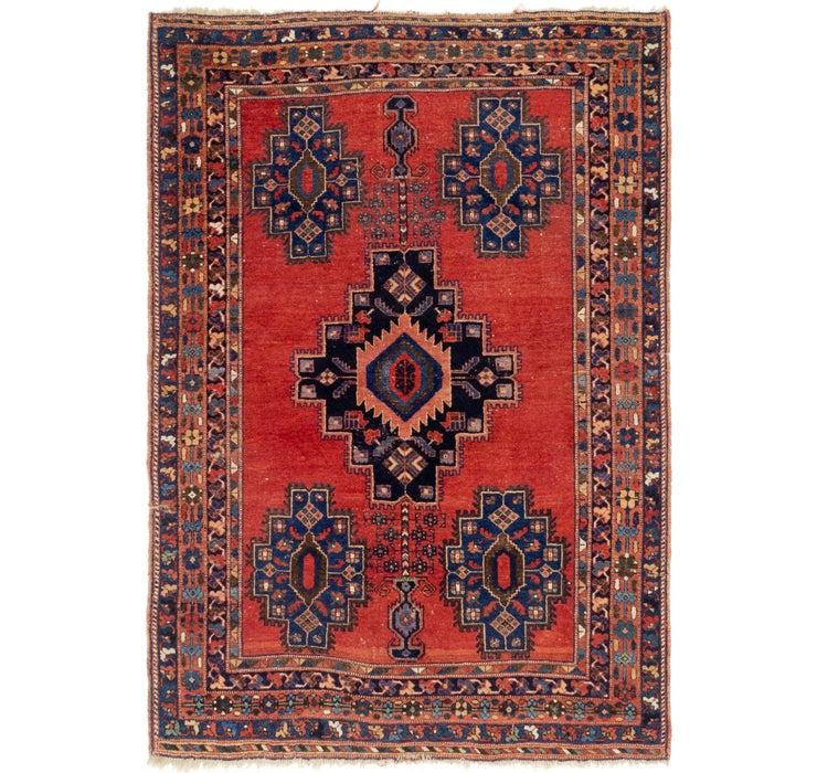 4' 7 x 6' 6 Shiraz Persian Rug