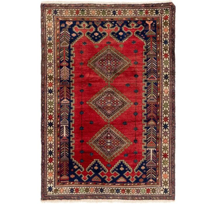 Image of 137cm x 198cm Yalameh Persian Rug