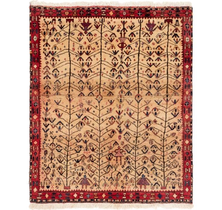Image of 130cm x 152cm Shiraz Persian Rug