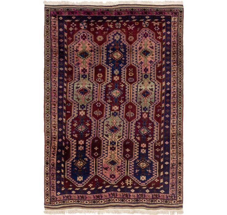 132cm x 190cm Yalameh Persian Rug
