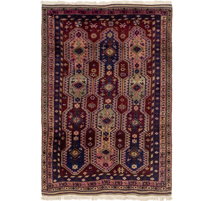 4' 4 x 6' 3 Yalameh Persian Rug