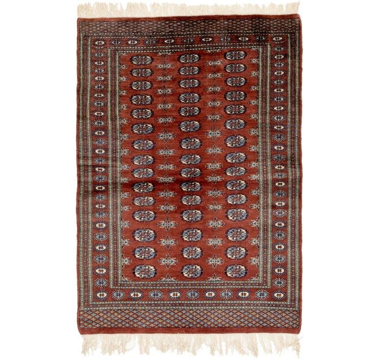 122cm x 175cm Bokhara Oriental Rug
