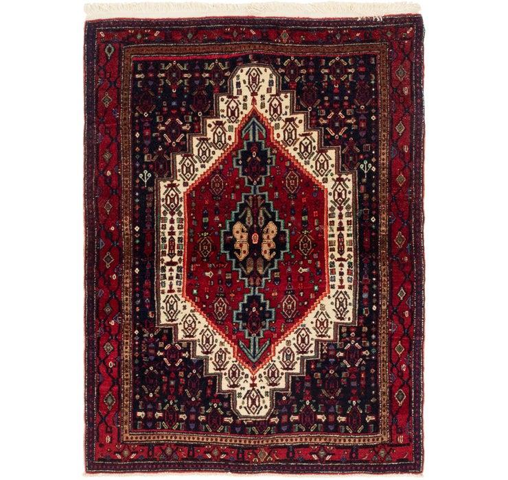 122cm x 163cm Senneh Persian Rug