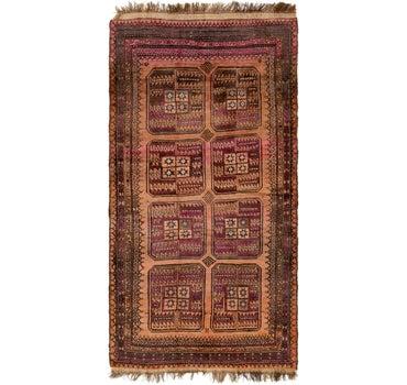 4' 3 x 8' 3 Shiraz Persian Rug main image