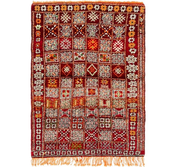 110cm x 152cm Moroccan Rug