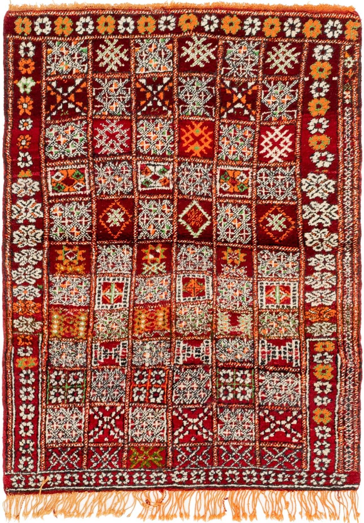 3' 7 x 5' Moroccan Rug main image