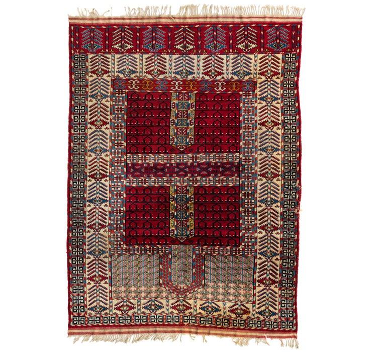 157cm x 213cm Shirvan Persian Rug