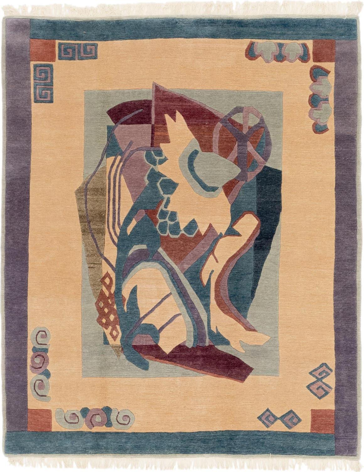 6' 8 x 8' Nepal Rug main image