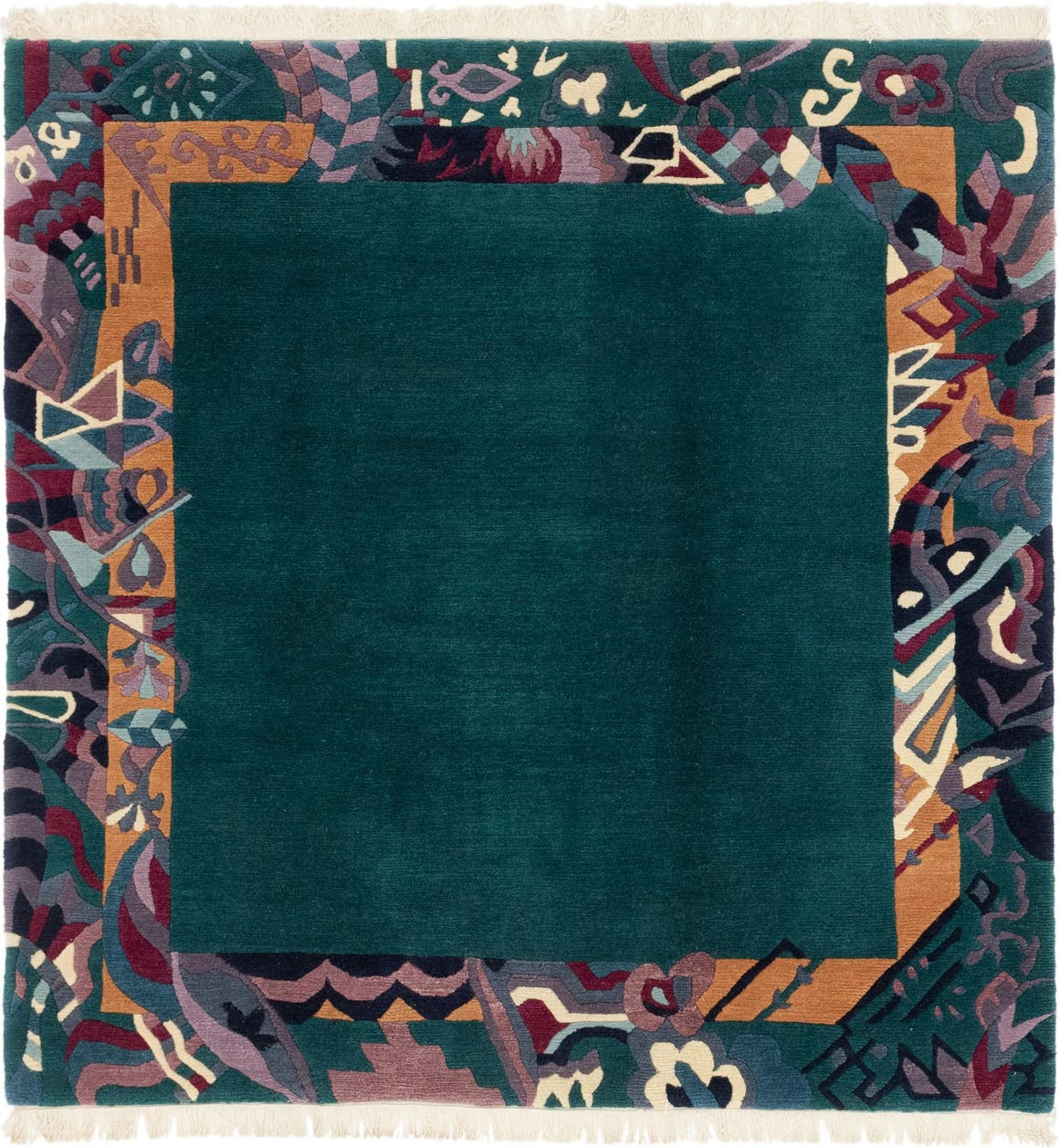 6' 9 x 6' 10 Nepal Square Rug main image